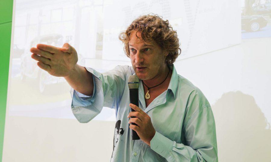Christian ,Chris' Schmachtenberg - einer der Coaches des CreativeCamp