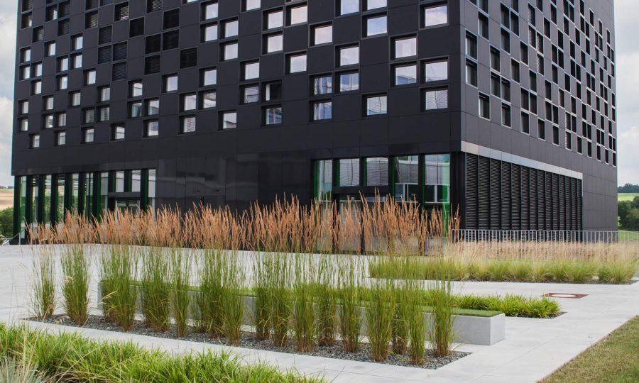 Der ,Cube' - kreatives Herz von STABILO International in Heroldsberg im Nürnberger Land